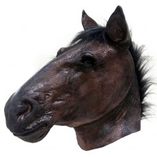 Realistic Dark Brown Horse